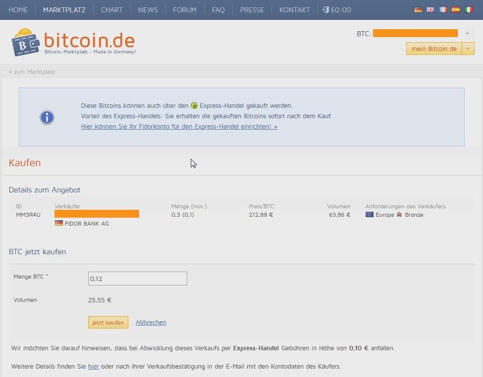 bitcoins de