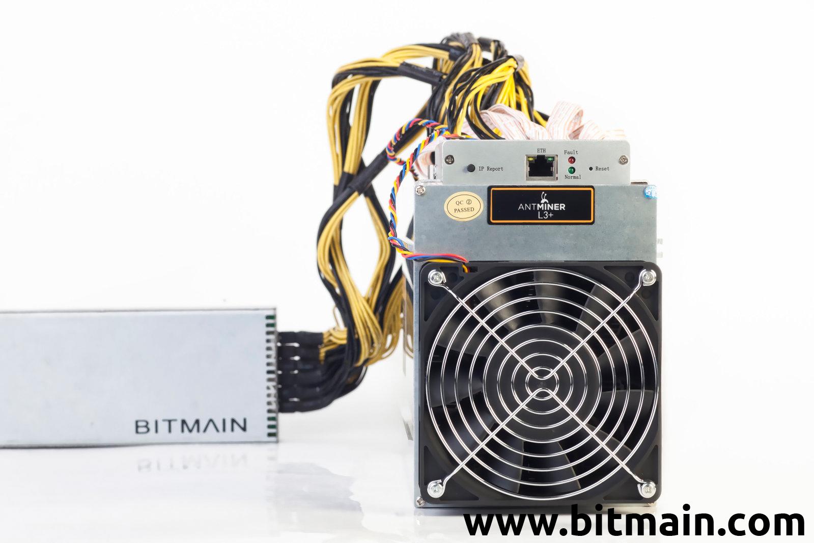 www.bitmain.com | Antminer L3+