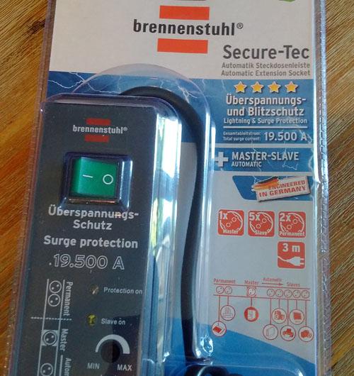Vorstellung Erfahrungen Brennenstuhl Secure Tec 8 Fach