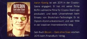 Rückseite: Cryptocoins: Investieren in digitale Währungen